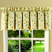 Amelia Blue Window Valance