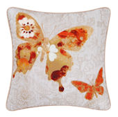 Arden Floral Butterfly Accent Pillow