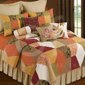 Avanni Patchwork Quilt and Bedding Set