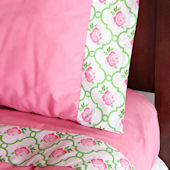 Caden Lane Boutique Pink Sheet Set