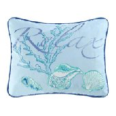 Ocean Waves Relax Accent Pillow