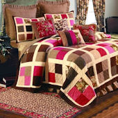 Safari Dreams Patchwork Quilted Bedding