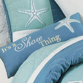 Waters Edge Embroidered Pillow