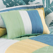 Waters Edge Striped Accent Pillow