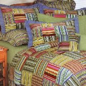 Bright Stripes Standard Sham