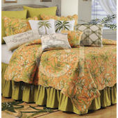 Barbados Sunsest Quilt and Bedding