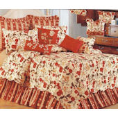 Carlisle Red Quilt and Bedding