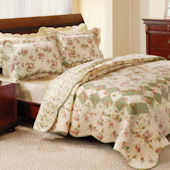 Greenland Home Fashions Bliss Quilt Set