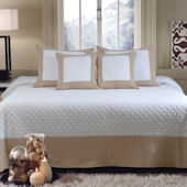 Greenland Home Fashions Brentwood Quilt Set
