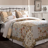 Greenland Home Fashions Camilla Quilt Set