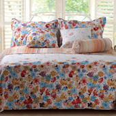 Greenland Home Fashions Euphoria Quilt Set