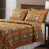 Greenland Home Fashions Lakewood Lodge Quilt Set