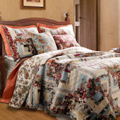 Greenland Home Fashions Montrose Quilt Set