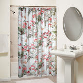 Greenland Home Fashions Butterflies Shower Curtain