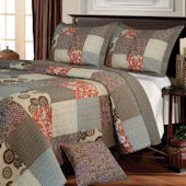 Greenland Home Fashions Stella Quilt Set