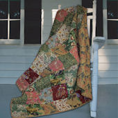 Greenland Home Fashions Antique Chic Throw