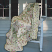 Greenland Home Fashions Bliss Rose Throw