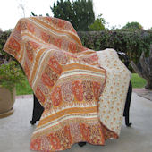 Greenland Home Fashions Taj Throw