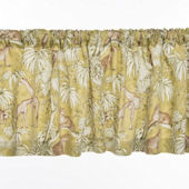 Glenna Jean Cape Town Animal Print Window Valance