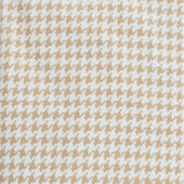 Glenna Jean Central Park Houndstooth Crib Sheet