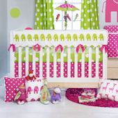 Glenna Jean Ellie and Stretch Crib Rail Protector