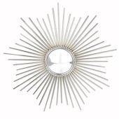 Glenna Jean Starburst Convex Nickle Mirror