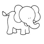 Glenna Jean Bella Elephant Wall Decal