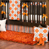 Glenna Jean Echo Sweet Potatoe Crib Bumper
