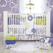 Lulu Four Piece Crib Bedding Set by Sweet Potato
