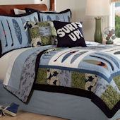Catch A Wave Quilt Bedding Set