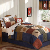 Classic Sports Quilt Bedding Set