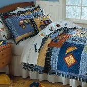 Construction Quilt Set