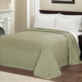 French Tile Sage Bedspread