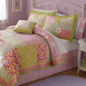 Julia Patchwork Quilt Set