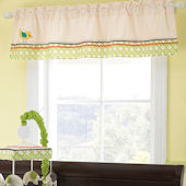 Laura Ashley Elephant Parade Window Valance