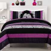 Posh Purple Comforter Set