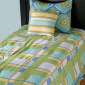 Rizzy Home Kids Plaid Bed Set
