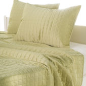 Rizzy Home Lime Quilted Bed Set