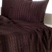Rizzy Home Chocolate Quilted Bed Set