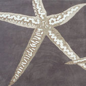 The Rug Market Sea Stars Taupe Rug 72438