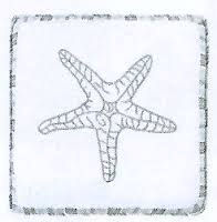 Hightide Shells Starfish Pillow SALE