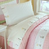 Tara Ribbon Stripe Sheet Set